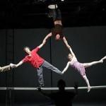 Au Festival d''Avignon, «Human» de Christophe Huysman voit de haut.
