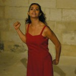 Darina Al Joundi, un public, un moment bouleversant.