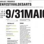 Pour quoi le KunstenFestivalDesArts de Bruxelles.